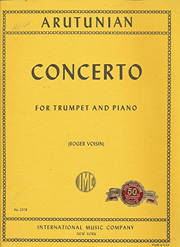 Concerto for Trumpet and Piano