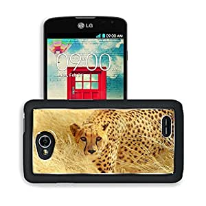 Animals Cheetahs Predators Wild Winter LG Optimus L70 Dual D325 Snap Cover Premium Aluminium Design Back Plate Case Open Ports Customized Made to Order Support Ready 5 2/16 Inch (130mm) X 2 12/16 Inch (70mm) X 11/16 Inch (17mm) MSD L70 Professional Cases