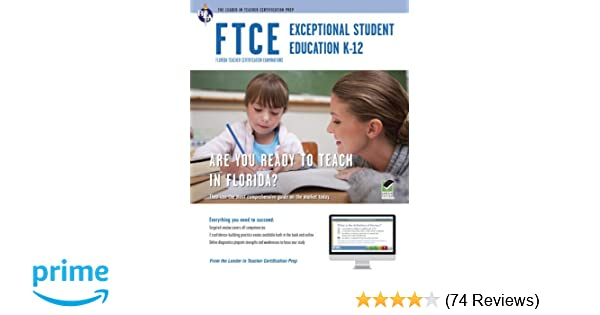 FTCE Exceptional Student Education K 12 Book Online FTCE