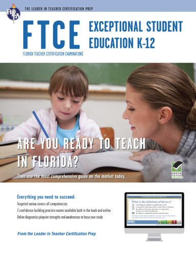 FTCE Exceptional Student Education K-12 Book + Online (FTCE Teacher Certification Test Prep)