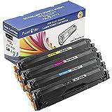 PrintOxe™ Compatible Set for CLT-504S of 4 Packs; BK K504S, Cyan C504S, Magenta M504S, & Yellow Y504S. CLT504S for Samsung Printer Models: CLP-415 , CLP-415N , CLP-415NW , CLX-4195N , CLX-4195FN , CLX-4195FW