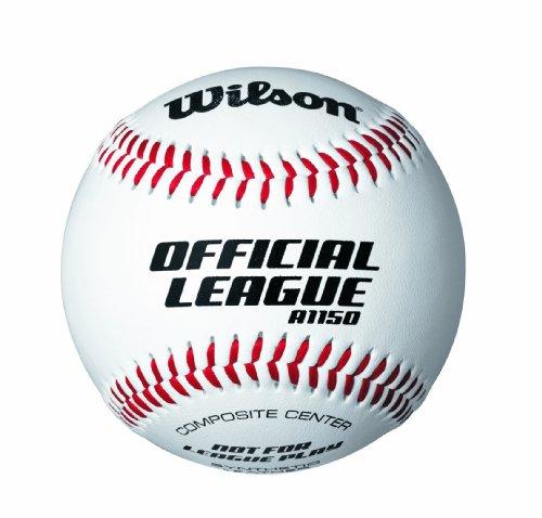 (Wilson WTA 1150T Youth League Baseballs (1-Dozen, Retail Package))