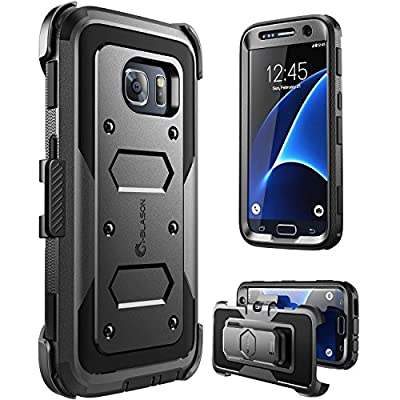 Galaxy S7 Case, [Armorbox] i-Blason built in [Screen Protector] [Full body] [Heavy Duty Protection ] Shock Reduction / Bumper Case for Samsung Galaxy S7 2016 Release