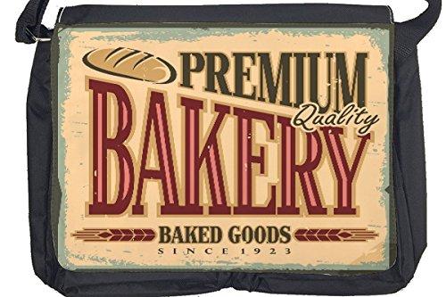 Borsa Tracolla Nostalgico Divertimento Premium di Baker Stampato