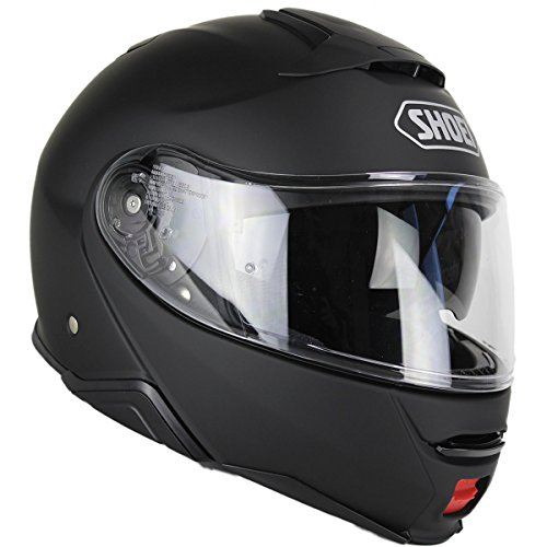Shoei Solid Neotec 2 Modular Motorcycle Helmet - Matte Black/X-Small -  0116-0135-03