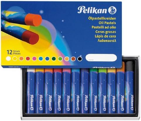 Pelikan 723213 - Ölpastellkreiden Etui mit 12 Farben