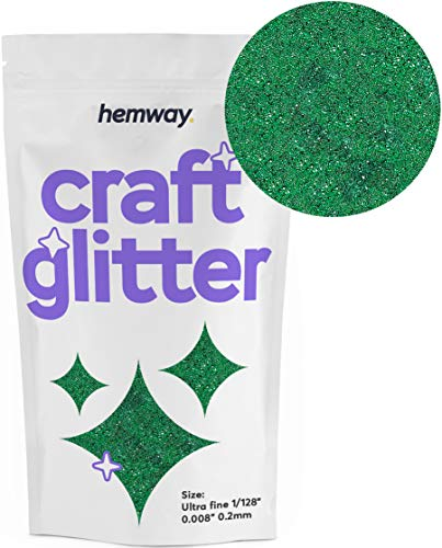 Hemway Craft Glitter 100g 3.5oz Ultrafine 1/128
