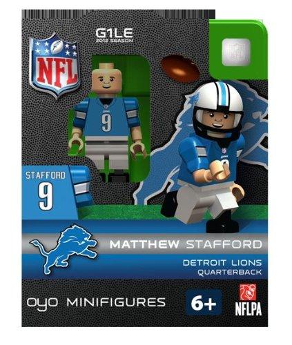 NFL Detroit Lions Matthew Stafford Figurine ()