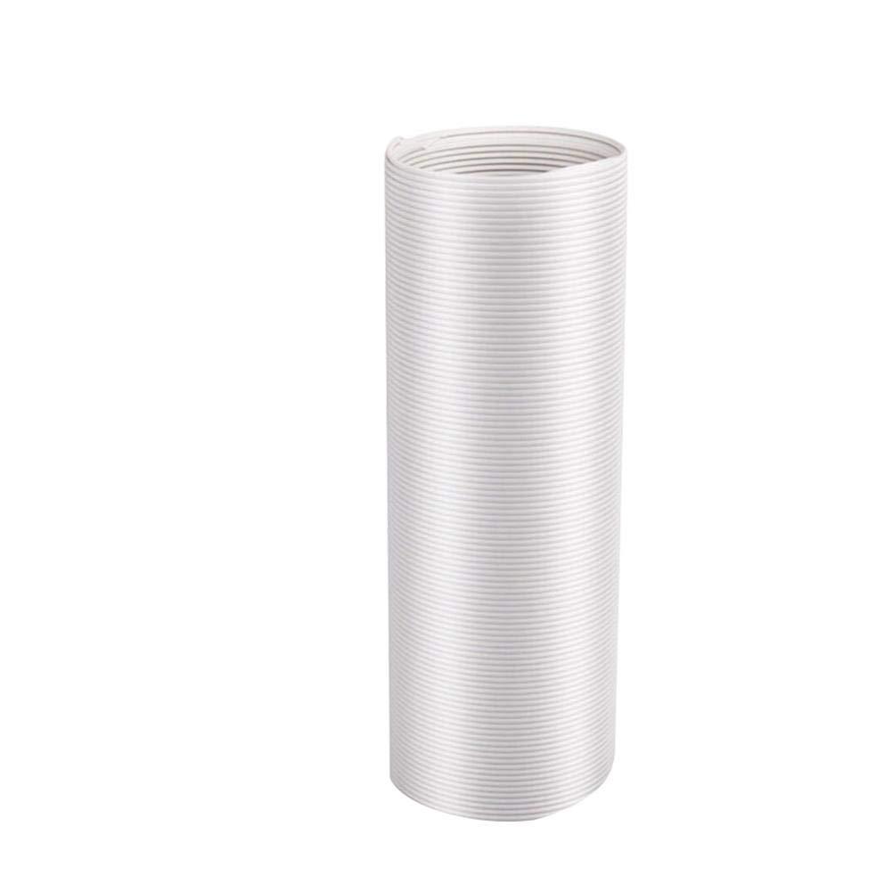 Tuyau d/échappement portable pour climatiseur flexible universel Tube de remplacement pour /évent de climatiseur individuel dans le sens inverse des aiguilles dune montre Tuyau CA pour arr/êter