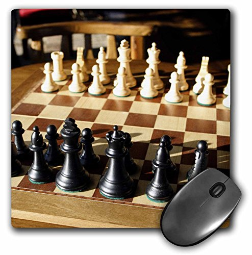 3dRose LLC 8 x 8 x 0.25 Argentina El Calafate Chess Board Game Michele Molinari Mouse Pad (mp_85390_1)