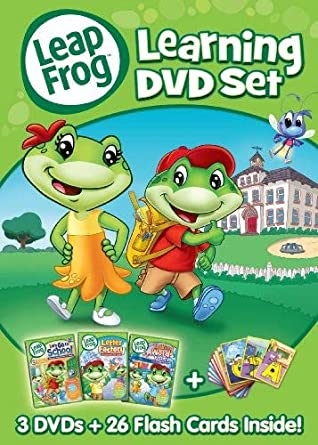 Amazon com: LeapFrog: Learning DVD Set: LEAPFROG: Movies & TV