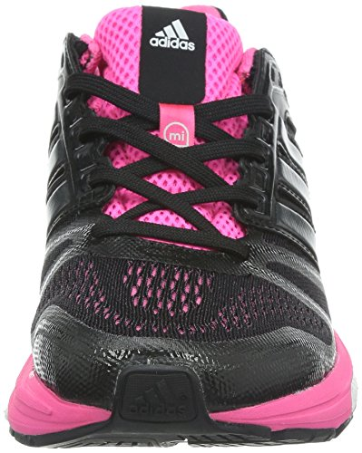 Adidas Supernova Sequence 7 - Zapatillas de running para mujer Black 1/Carbon Metallic S14/Neon Pink