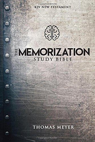The Memorization Study Bible: KJV New Testament