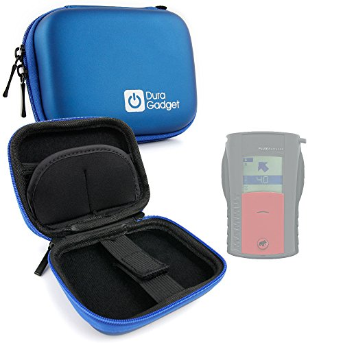 DURAGADGET Premium Quality Blue Shock-Absorbant Hard Shell Case for Mammut Barryvox Pulse Avalanche Transceiver (Beacon Pulse Avalanche)