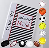 Baseball Photo Album IA#885 4x6 or 5x7 Tournament Pictures Sport Team Mom Coach Gift Teammates Championship Basketball Softball Volleyball Soccer Hockey Baseball Golf