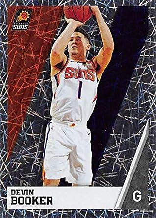 2018-19 Panini NBA Stickers Basketball  338 Devin Booker Phoenix Suns Foil eb4dc1f35