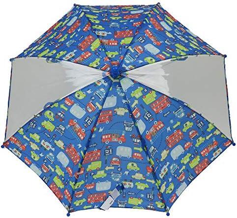 【子供服】 Kids Foret (キッズフォーレ) 車・恐竜総柄かさ・傘 SS~M B81861