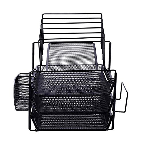Vencer All-in-One Black Wire Mesh Desk Organizer,VOF-002 for sale  Delivered anywhere in Canada