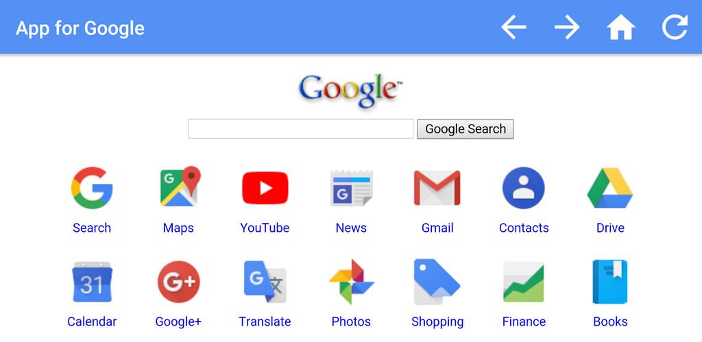 App for Google