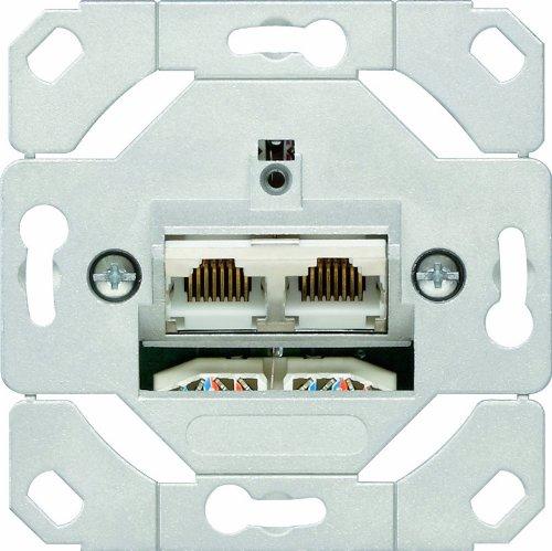 Gira 016600 - Enchufe de transmisió n de datos (2 entradas)