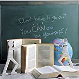 "Cusfull Self-Adhesive Blackboard Removable Chalkboard Wall Sticker for Home and Office 35.4"" x 78.7"""