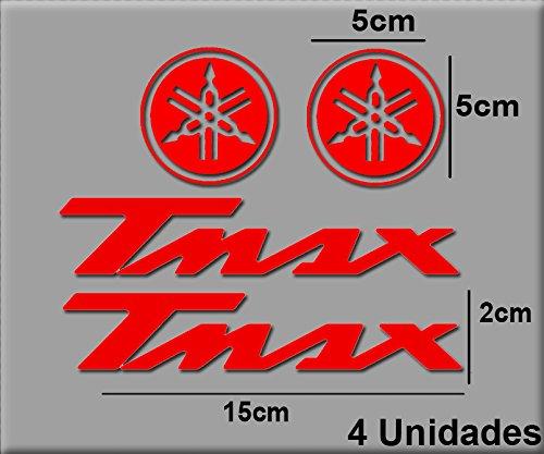 Rojo Ecoshirt 4C-9S6N-HBHQ Pegatinas Stickers T MAX R18 Aufkleber Decals Autocollants Adesivi