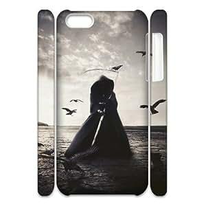 lintao diy Cell phone 3D Bumper Plastic Case Of Grim Reaper For iPhone 5C