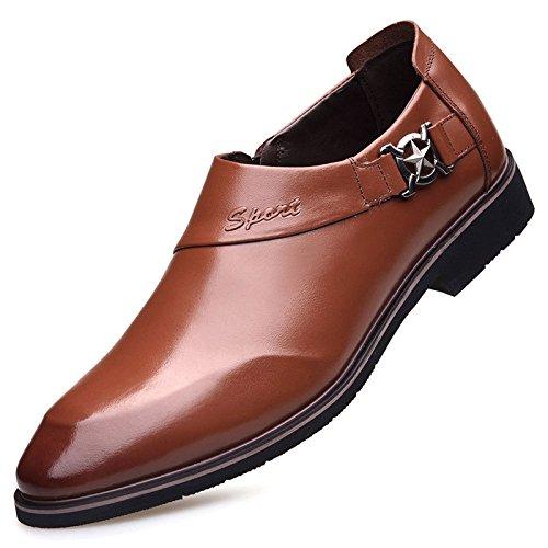 Herrenschuhe Business Kleid Schuhe Wies Hochzeit Schuhe Office Schuhe Brown