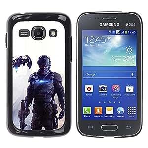 Stuss Case / Funda Carcasa protectora - FUTURO DE JUEGOS SOLDADO PC - Samsung Galaxy Ace 3