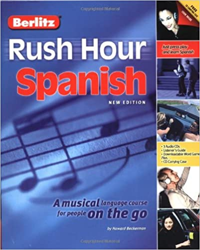 Amazon Berlitz Rush Hour Spanish Spanish Edition