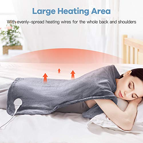 Electric Heating Pad for Back and Shoulder Pain, 35\