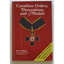 Canadian Orders, Decorations, and Medals