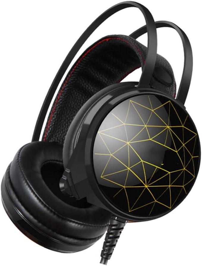 YYZLG K5U Auriculares, USB7.1 Canal Profesional Internet ...