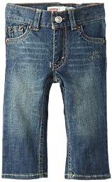 Levi\'s Baby Boys\' 514 Straight Fit Jean, Atlas, 18 Months