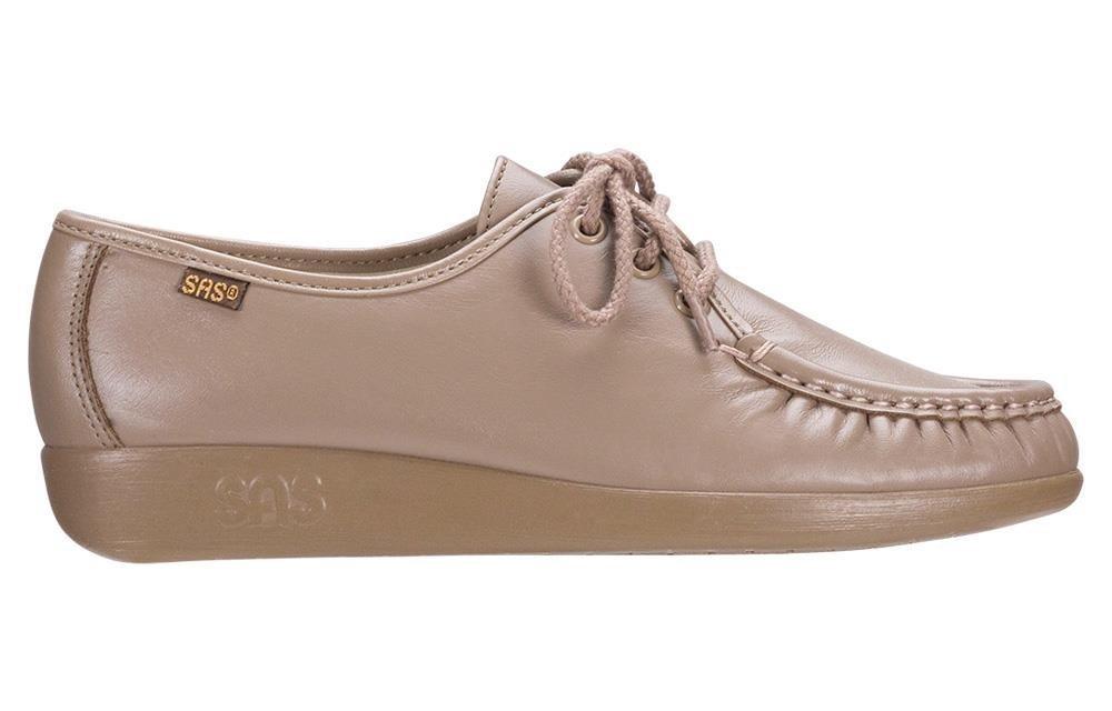 SAS Womens Siesta Leather Closed Toe B00OWFHBQ0 8 W - Wide (C) US|Mocha