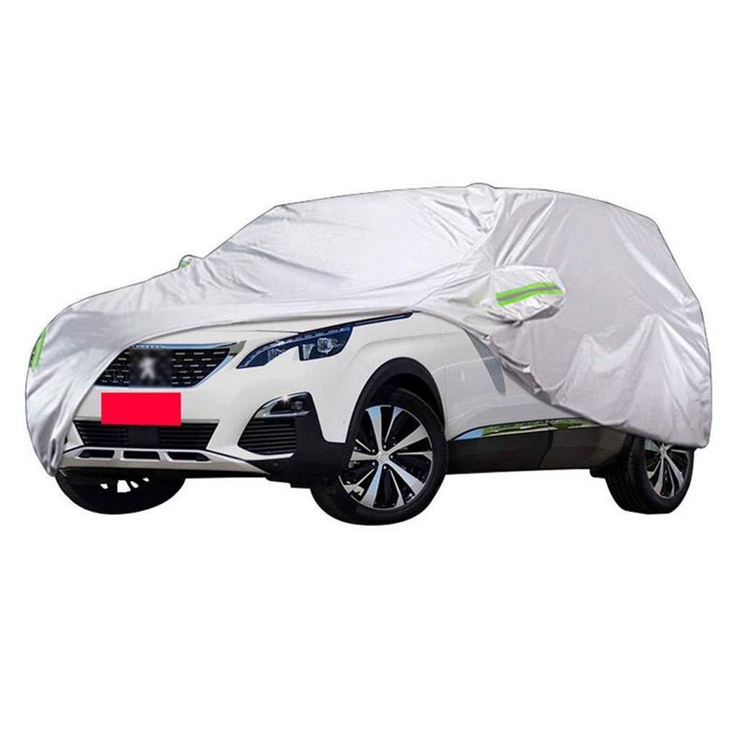 T-Day ボディーカバー カーカバー 屋内プジョー5008 SUV厚いオックスフォード布屋外保護日焼け止め雨 (サイズ さいず : 2019) 2019  B07QD29GDF
