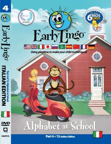 Language Italian Alphabet (Early Lingo Alphabet at School DVD (Part 4 Italian))