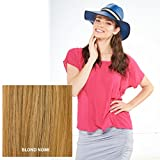 Milano Collection Hat Wig 100% Premium Human Hair 19