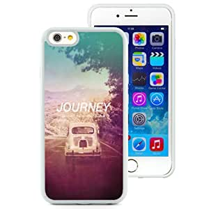 Beautiful Unique Designed iPhone 6 4.7 Inch TPU Phone Case With The Journey Not The Destination_White Phone Case