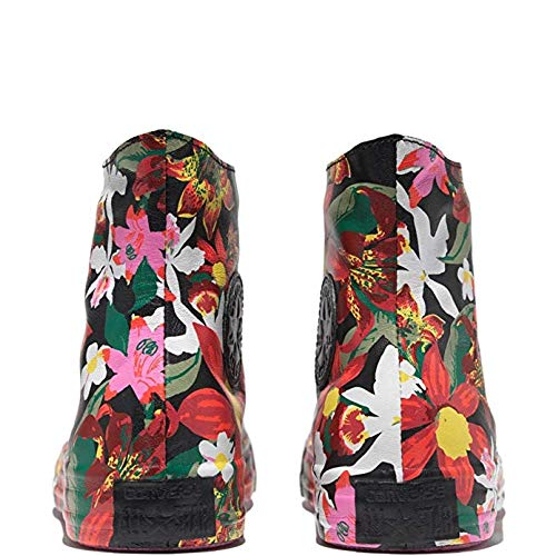 Converse x PatBo Women's Chuck Taylor All Star Shroud High Top Black/Bright Pink (6)]()