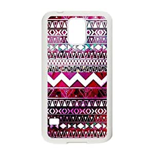 Aztec Tribal Pattern DIY Cover Case for SamSung Galaxy S5 I9600,personalized phone case ygtg536285