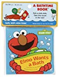 Elmo Wants a Bath, Joe Mathieu, 0679830669