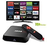 Monba M8S Plus Set Top TV Box Android with Fully Loaded Kodi 16.0 XBMC Amlogic S812 Quad Core 2GB/16GB and Dual Band Wifi