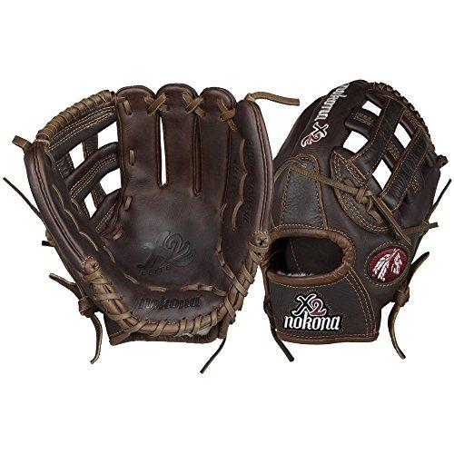NOKONA X2-1175 LEATHER BASEBALL GLOVE INFIELDER softball NK Brown RIGHT HAND THRO 13' Softball Fielders Glove