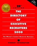 The Directory of Executive Recruiters 2000, , 1885922485