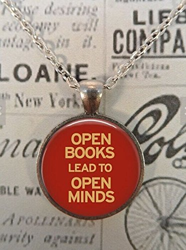 Necklace Literature Readers Literacy Librarian