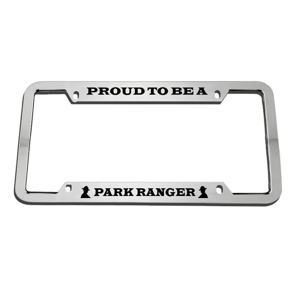 Auto Car Truck License Plate Cover Holder US Standard License Tag Aluminum Metal Black License Plate Frame Women//Girls