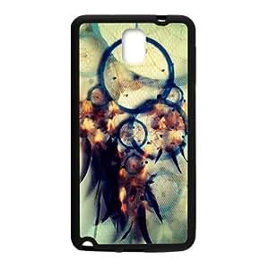 Dream Catcher Campanula Pattern Rigid Samsung Galaxy note 3 Case Cover (Laser Technology)
