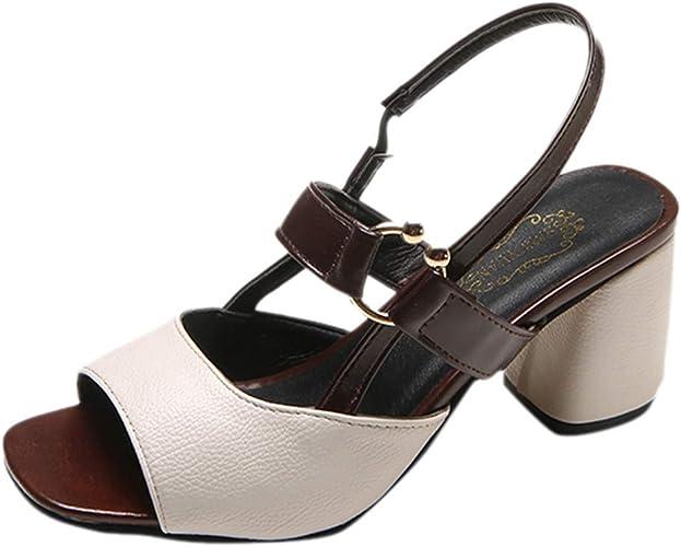 SHJIRsei Zapatos, Zapatos Piel Mujer Hechos EN ESPAÑA. Sandalia ...