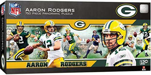 MasterPieces NFL Green Bay Packers Aaron Rodgers Puzzle (750 Piece)